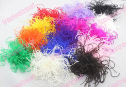 free shipping 120pcs fashion 5-6'' curl ostrich feather puffs feather hair clips ostrich puff clips