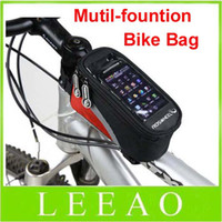 Wholesale Lowest Price Waterproof Cycling Bike Bicycle Frame Pannier Front Tube Bag For Cell Phone