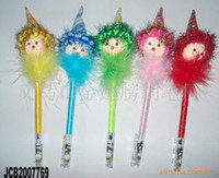 Wholesale Pen pointed hat doll pen customized gifts cartoon pen