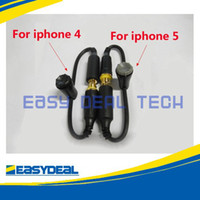 Wholesale Waterproof Cover Case Headphone Adapter Plug cable w Seal Cap for iphone Black Hot Selling NEW