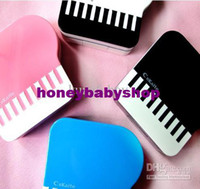 Wholesale 20pcs Fashion Piano based contact lens case High quality Piano based Contact lens case