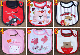 Wholesale Infant saliva towels layer Baby Waterproof bibs Carter Baby wear accessories styles