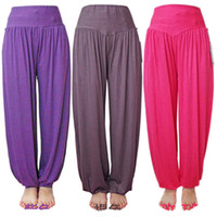 Wholesale New Style Womens Gym Casual Long Fitness Yoga Sweat Pantalets Pants Trousers