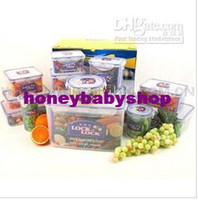 Wholesale Lock amp Lock piece Color Food Storage Container Set