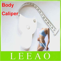Wholesale HOT Lowest Price Accurate Diet Fitness Caliper Measuring Body Waist Tape Measure Free Ship