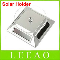 Wholesale Lowest Price With Retail Package Solar Powered Rotating Display Stand Turn Table Plate