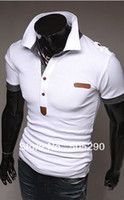 Wholesale Mens T shirts2013 summer fashion men s T shirts short sleeve polo t shirts tops men s clothing free