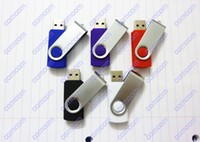 Wholesale DHL swivel GB USB Flash Memory Pen Drives Sticks Disks Discs GB Pendrives Thumbdrives