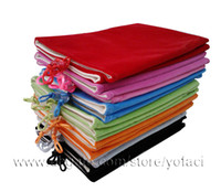 9.7'' For Apple for Ipad 4 Soft Velvet Bag Pouch Sleeve for ipad 2 3 4 5 ipad Air Two-tier Cases