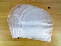 Wholesale 1 Pack Semitransparency Plastic Sleeves for CD s disc
