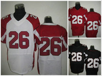 Wholesale Elite White Road American Football Jerseys Cardinals New Season Authentic Rugby Jersey Hot Sell