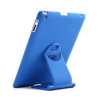 Wholesale 360 Degree Rotatable Swivel Wireless Keyboard Bluetooth Stand Case For apple ipad DHL