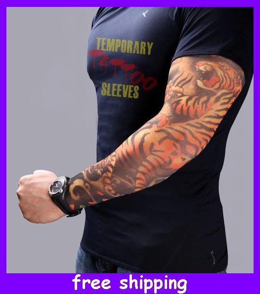 Tattoo arm sleeves dress sleeve tattoos temporary tattoo for Fake tattoo sleeves toronto