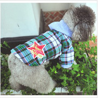 Wholesale Summer pet clothes puppy shirt dog clothes dog men s hooded shirt