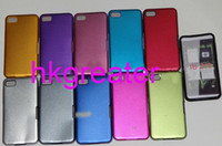 Metal For Blackberry  Wholesale Aluminum Metal Silicon Cover Case for BlackBerry Z10 BB 10 50-100pcs EMS DHL