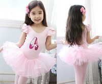 ballerina dance costumes - Baby dress kids ballerina skirt girl skirt children condole belt dress girl dance skirt costume