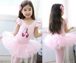 Wholesale Baby dress kids ballerina skirt girl skirt children condole belt dress girl dance skirt costume