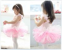 Wholesale Girl dress kids ballerina skirt girl skirt children condole belt dress girl dance skirt costume