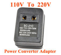 Wholesale High quality W watt V To V Power Converter Adapter Voltage Transformer