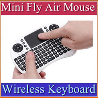 Wholesale DHL Mini Fly Air Mouse Wireless Keyboard touch pad For Google Android Mini PC TV BOX KZ
