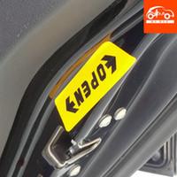 Cheap Car door reflective stickers bumper car sticker open rav4mg3 car stickers auto supplies