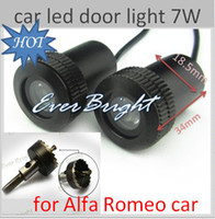 Wholesale 2 th Generation W Welcome Laser D Ghost Shadow Logo Light for alfa romeo car
