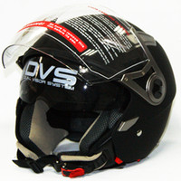 Wholesale DOT motorcycle helmts open Face Helmet with doublevisor scoote helmet Brand JIX OP02