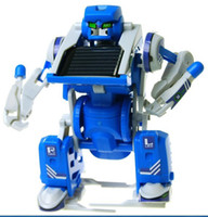 Wholesale Hot Factory Education Toys Toys in Solar Creative Product DIY Assembled Toy Robot Deformation