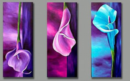 Wholesale Beautiful Vary Color Rose Oil Group Paintings Pure Handmade Oil Painting Wall Decorative Painting