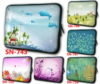 Wholesale High quality inch laptop case colorful tablet sleeve bag Spring Design Printed on both sides mixorder