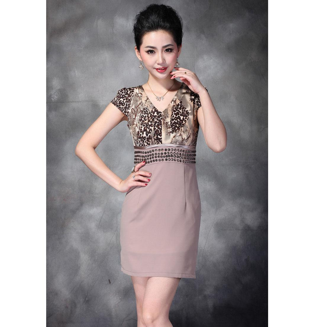 2016 Summer Bodycon Dress Hot Fashion Elegant Women&39s Dress V-neck ...