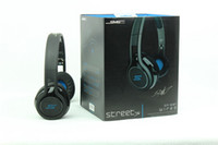 Wholesale SMS Street Sync Audio Cent On ear Wired Headphones Earphones Cheap Price pc Free DHL