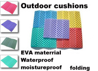Wholesale New EVA Outdoor Cushions Moistureproof Camping Cushion Folding Cushion Yoga mats Mixed colors