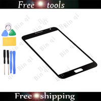 Wholesale New OEM Touch Screen Outer Glass Lens For SAMSUNG Galaxy Note I9220 N7000 With Tools