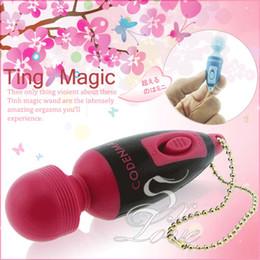 Wholesale Multi Function Magic Wand Massager Mini pocket AV Vibrator Sex Toy For Female Sex Products