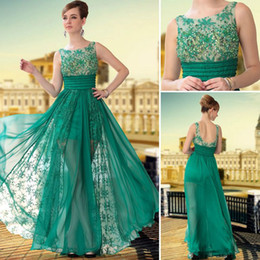 Wholesale 2013 Sexy Prom Party Dress Jewel Chiffon Lace Embroidery Beaded Ruffles Evening Dresses DH4303