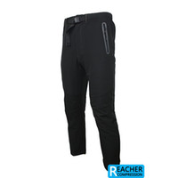 Wholesale 2013 arsuxeo spring mens outdoor sports cycling elastic pants black