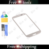 Wholesale New OEM Touch Screen Outer Glass Lens For SAMSUNG Galaxy Grand DUOS I9082 With Tools