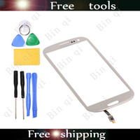 For Samsung galaxy s3 digitizer - New OEM Digitizer Touch Panel Glass Screen For SAMSUNG Galaxy S3 SIII I9300 White With Tools