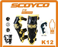 Wholesale SCOYCO K12 MOTORCYCLE KNEE amp EBLOW PROTECTOR HIGH QUALITY SPORT SCOOTER MOTOR RACING GUARD SCOOTER PAR
