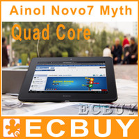 Wholesale Ainol novo7 Venus Myth Tablet PC Quad Core Android Inch IPS RAM GB ROM GB Dual Camera