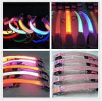 Good Quality Glow LED Cat Dog collars 8 colors Pet LED Flash...