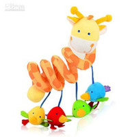 Wild Animals Multicolor  free shipping Baby toys high quality crib about the deer bed around h5