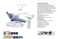 Wholesale Computer Controlled Dental Chair Unit FDA CE Approved TJ2688 A1 Model hard leather ocean shipping