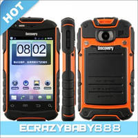 Wholesale Waterproof Tri Anti Discovery V5 Inch Android Quand Band GSM Smart Cell Phone G Drfy SC8810