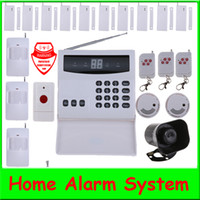 Wholesale Wireless Home Security Alarm System Kit with Auto Dial zones wireless siren