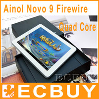 Android 4.1 9 inch 16GB Spark Ainol Novo 9 Quad Core 9.7 Inch IPS Android 4.1 Tablet PC Allwinner A31 RAM 2GB ROM 16GB HDMI