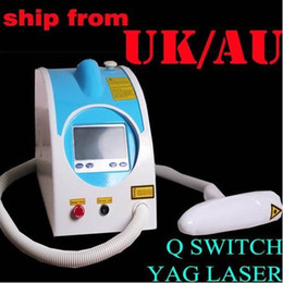 Wholesale Q Switched Tattoo Eyebrow Pigment Removal Nd Yag Laser nm nm cooling system Beauty Device