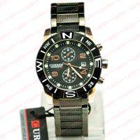 Casual Men's Water Resistant Luxury Men Fashion Watch Calendar Metal Band CURREN Business Leisure Quartz Wrist watch Airmail 8038