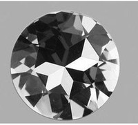 Wholesale 27mm round Satellite circle glass pointback rhinestones clear crystal AB rose black diamond champag
